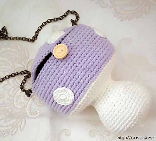 Детская сумочка «Мухомор» крючком (3) (514x466, 164Kb)
