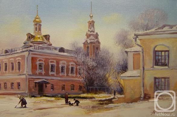 Москва. Сад им. Баумана (586x388, 132Kb)