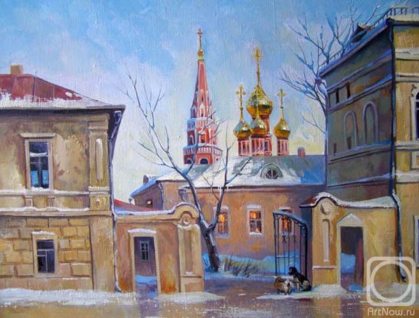 Москва. По улице Ордынке... (600x456, 193Kb)