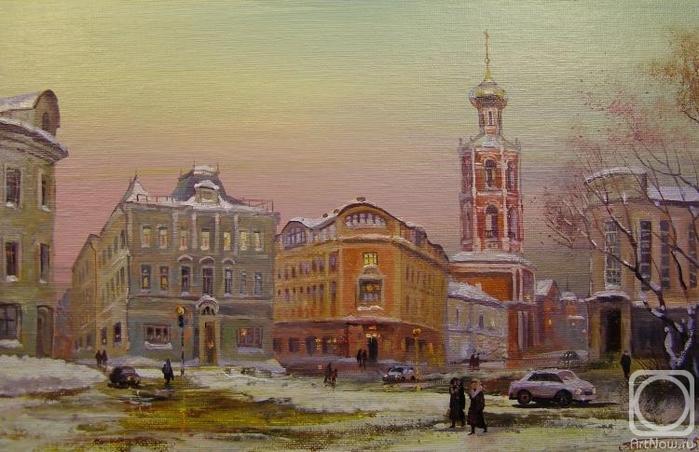 Москва. Петровка 3 (700x452, 242Kb)