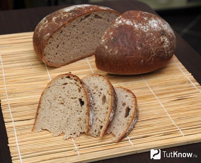 Рецепт вкусного ржаного хлеба в духовке