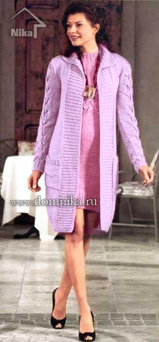 вязаное пальто спицами записи в рубрике вязаное пальто спицами