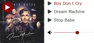 Tokio Hotel Dream Machine 2017