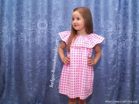 579e7d34dc6 как сшить платье для девочки - Самое интересное в блогах