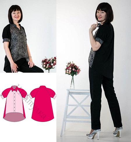 84814ffb923 пошив блузы - Самое интересное в блогах