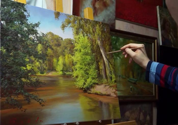 Синтетические кисти для живописи в интернет-магазине rosa.ua (1)