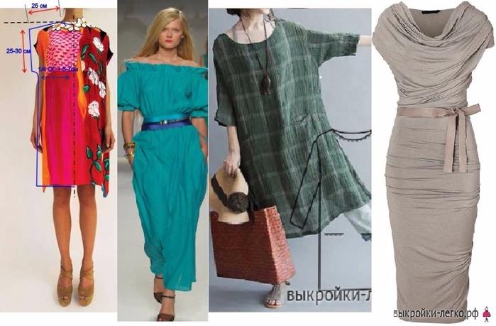 0e7923fa38f Шьем простые платья. Выкройки