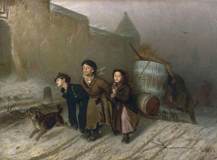 Картинки по запросу картина в перова тройка