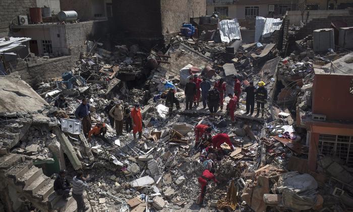 93e7b89ff США: может, мы и разбомбили 100 мирных граждан. Но мы не специально, и  никого не накажут.