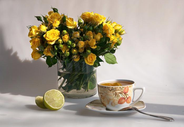 изменение желтые тюльпаны чай утро живые лучшие картинки нежелательная ситуация для