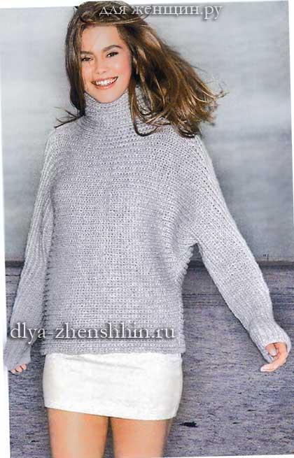 вязаные свитера спицами | Записи в рубрике вязаные свитера ...