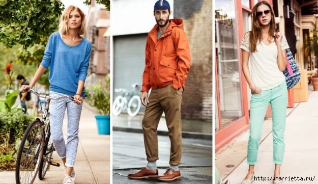 Модные брюки ЧИНОС. Как и с чем носить (3) (625x361, 151Kb)