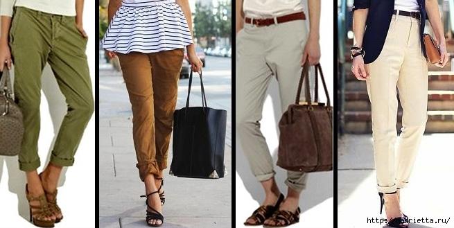 Модные брюки ЧИНОС. Как и с чем носить (7) (655x329, 149Kb)