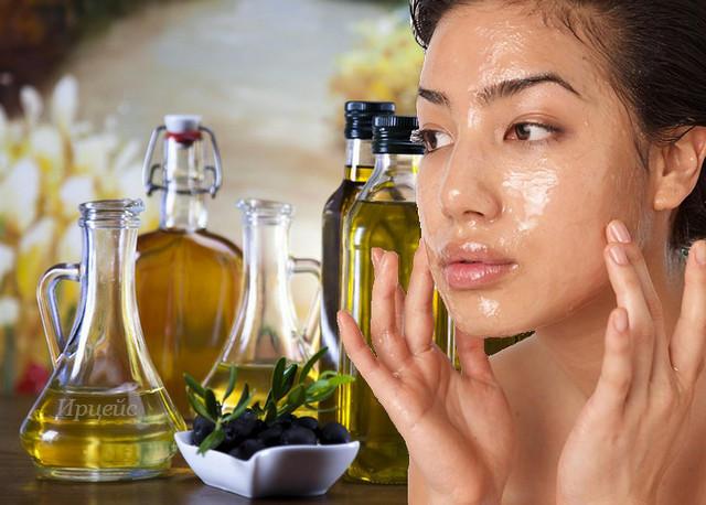 Добавление оливкового масла в крем для лица