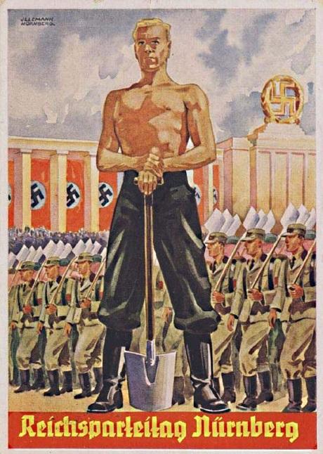 Рисунки, агитационная открытки вермахта