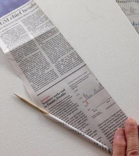 Плетение из газет корзинки-паутинки. Фото мастер-класс (2) (285x320, 87Kb)