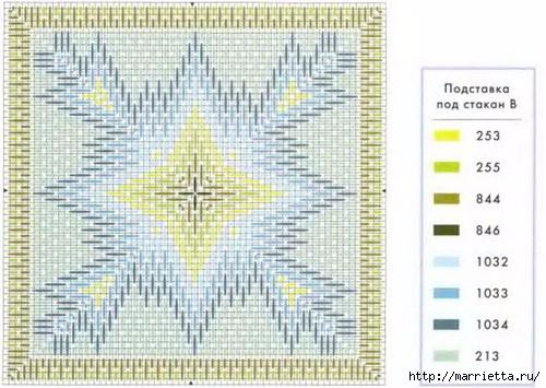 Флорентийская вышивка в технике барджелло (4) (500x355, 153Kb)