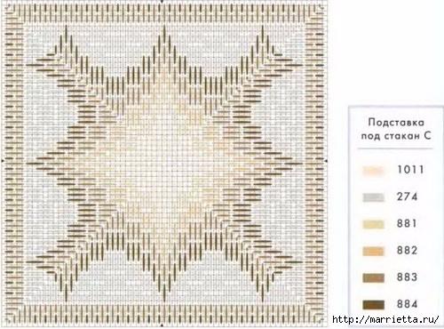 Флорентийская вышивка в технике барджелло (8) (500x370, 153Kb)