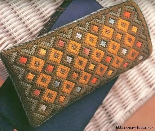 Флорентийская вышивка в технике барджелло (10) (500x424, 187Kb)