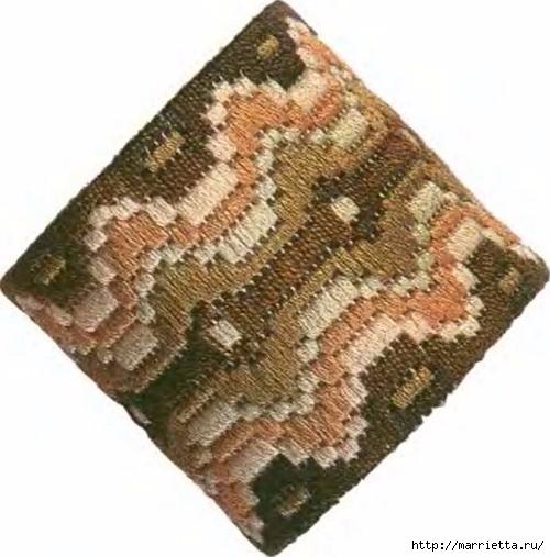 Флорентийская вышивка в технике барджелло (16) (500x507, 144Kb)