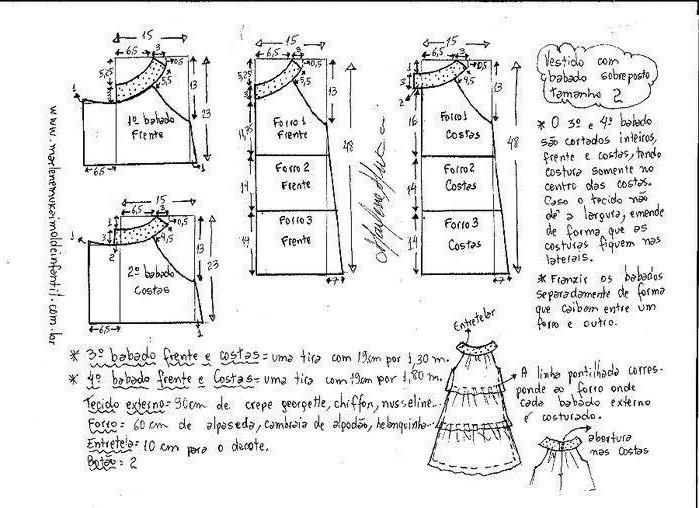 Выкройка воздушного летнего платья для девочки (4) (699x508, 226Kb)