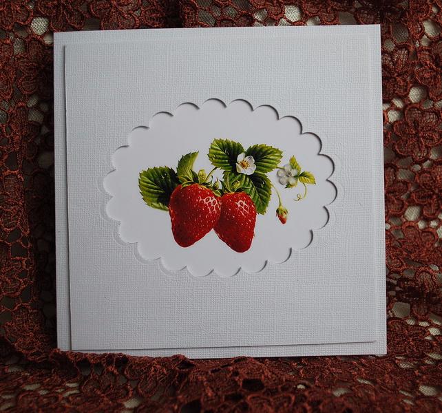 Своими, открытки ягодка