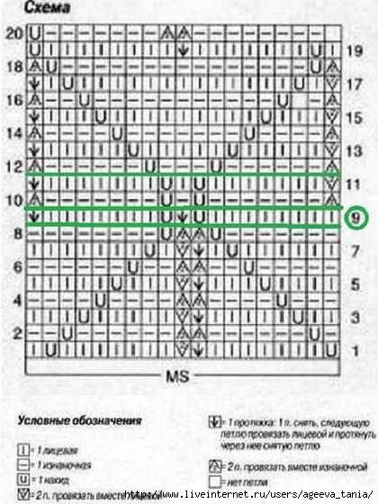кожа-крокодила-спицами-схема (420x560, 136Kb)