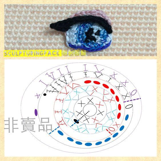 Вязаные глазки для игрушек крючком с описанием