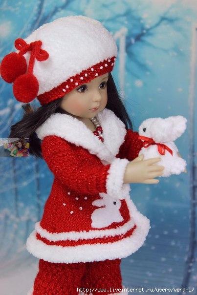 одежда для кукол записи в рубрике одежда для кукол вязаные