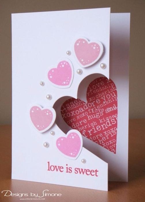 Идеи открыток ко дню влюбленных