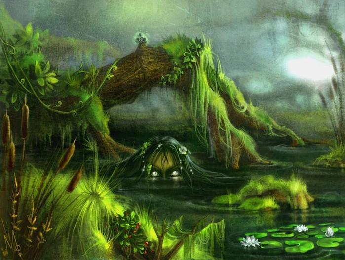 Крылатая змея с двумя хоботами и другие чудовища из славянской мифологии!