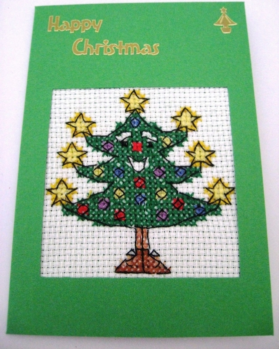 6226115_ChristmasCardCompletedCrossStitchTree6x4 (559x700, 323Kb)