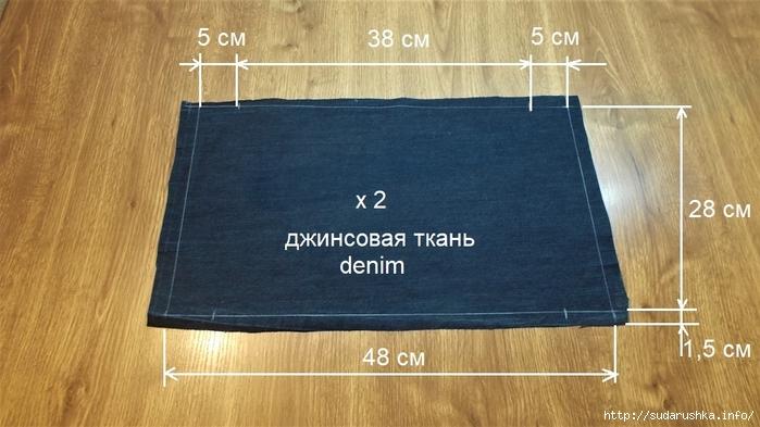 1a27c7a59c5c Джинсовая сумка. Подробный мастер класс Скороходова. Обсуждение на ...