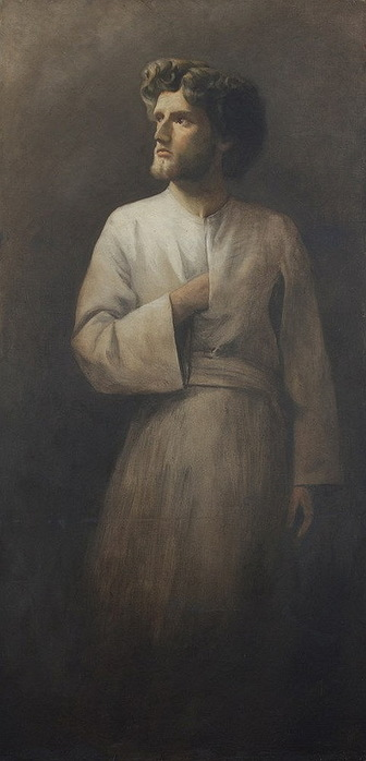 Ritratto di Otto Driessen. Х, м. 195 x 91cm. (336x700, 57Kb)