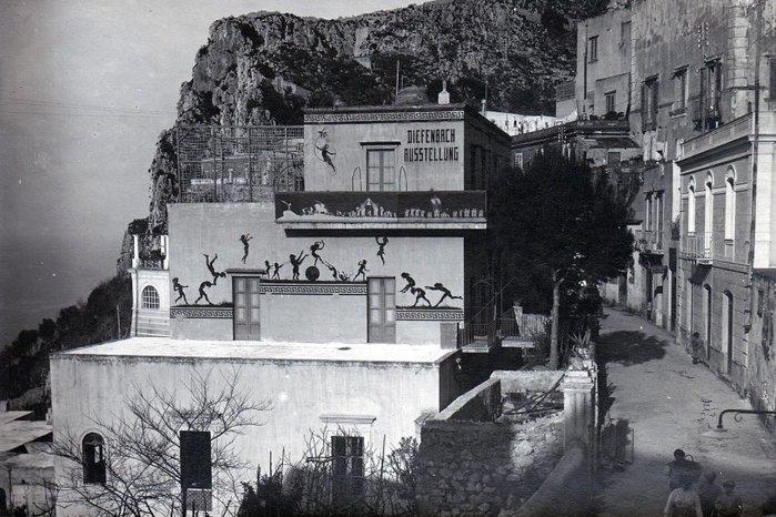 ФОТО Seine Unterkunft, die Villa Giulia in Anacapri, (700x466, 95Kb)