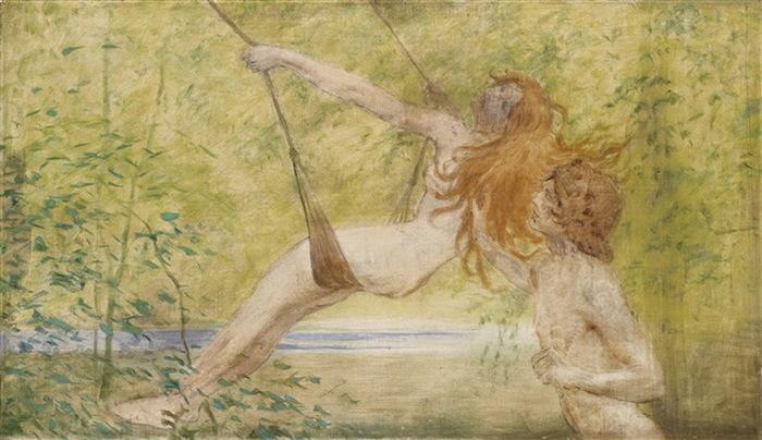 NEW Фея Стелла и Гелиос. 1889 Х м 124 x 72 cm ЧС (700x404, 105Kb)