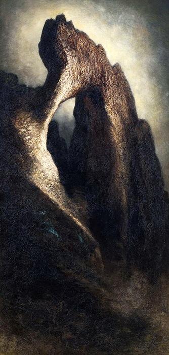 NEW Природная арка. Museo Diefenbach Certosa di Capri. 1900 (334x700, 104Kb)