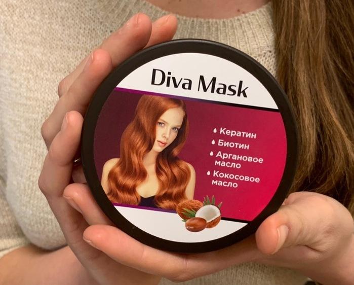 Diva Mask для укрепления и здоровья волос в Железноводске