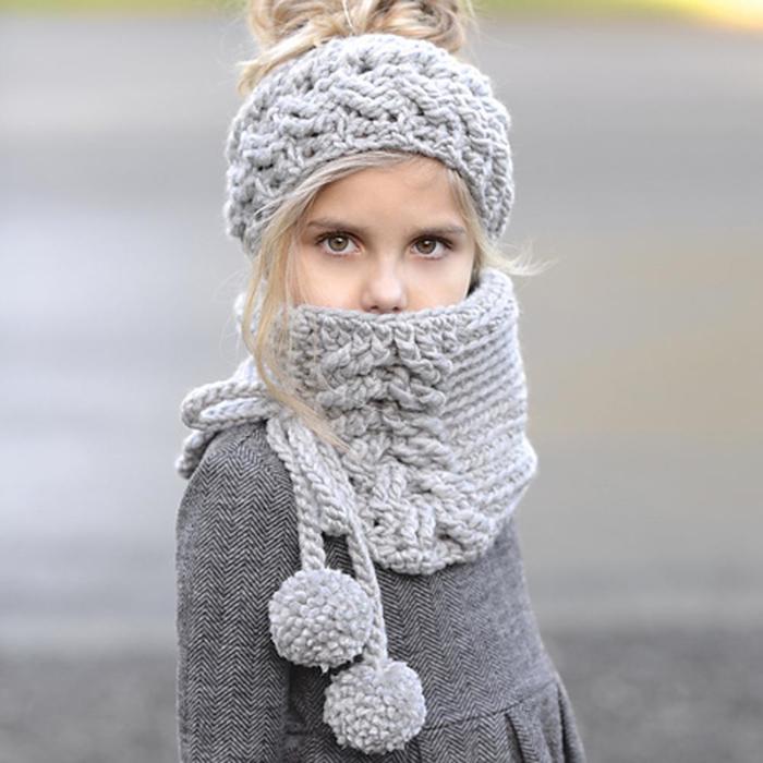 вязаные шапки и шарфы самое интересное в блогах
