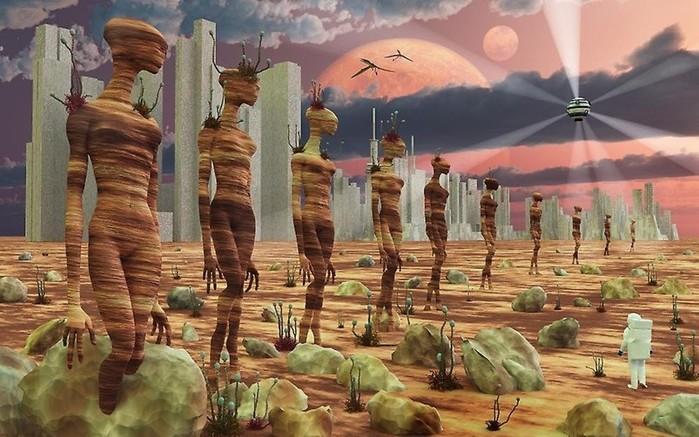 Древние цивилизации контактировали с пришельцами