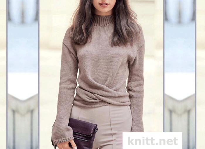 vyazanyj-monoxromnyj-pulover (700x510, 489Kb)