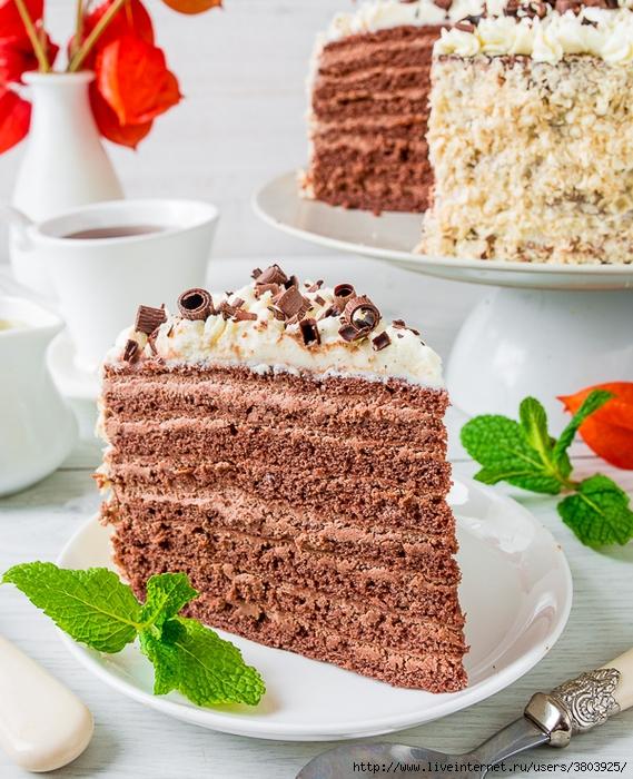 """Торт """"Шоколадная девочка"""" — покорил меня — все, я пропала"""