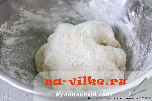 Заварное дрожжевое тесто на кипятке для жареных пирожков (моментально растут на сковороде)