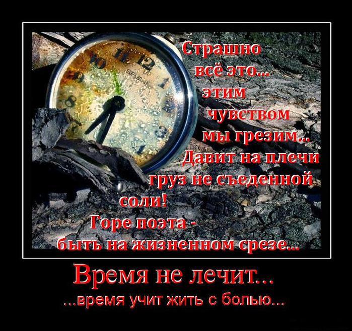 ведущая картинки время не лечит оно просто учит жить собрано