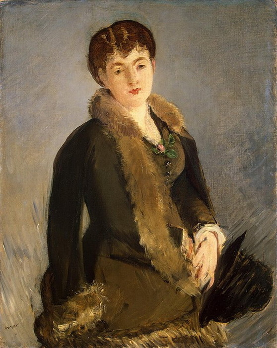 1879-1880 Portrait-of-Mademoiselle-Isabelle-Lemonnier (стр.59) (558x700, 151Kb)