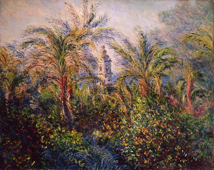 1884 Garden in Bordighera, Impression of Morning (с.153) (700x557, 256Kb)