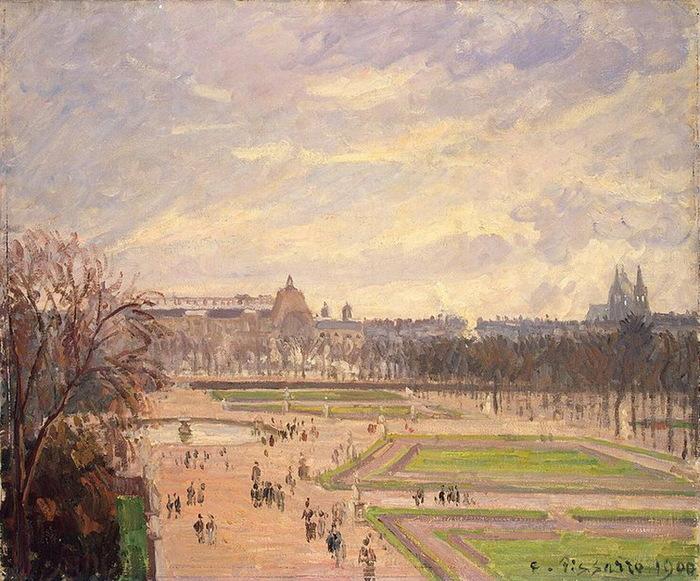 1900 Tuileries Gardens (с.167) (700x581, 176Kb)