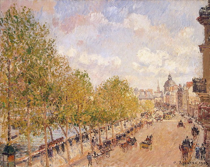 1903 Quai-Malaquais-Sunny-Afternoon (с.175) (700x557, 229Kb)
