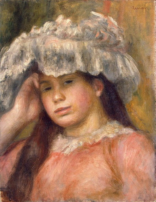 1892-1894 Young-Girl-in-a-Hat (с.119) (542x700, 179Kb)