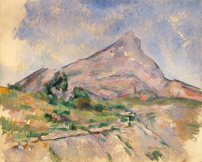 1897-1898 Mont-Sainte-Victoire (с.207) (700x561, 181Kb)